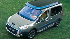peugeot partner peugeot partner u0027urban activity u0027 vehicle by irmscher