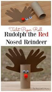 toilet paper roll reindeer kid craft toilets reindeer and crafts