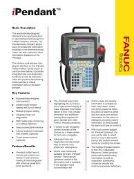 fanuc ipendant menu computing user interface