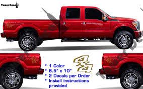 subaru side decal 4x4 vinyl decal fits ford trucks 2008 2016 f250 f350 super duty