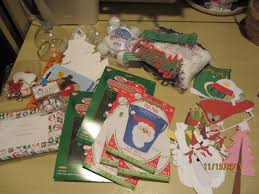 large lot of asstd kids christmas crafts kids craft holiday craft lot