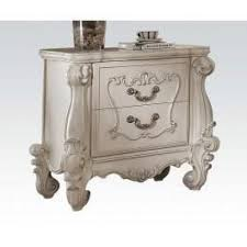 Bedroom Furniture Set White Versailles Tufted Headboard Bedroom Set By Acme Bellagio