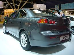 grey mitsubishi lancer file mitsubishi lancer rear quarter jpg wikimedia commons