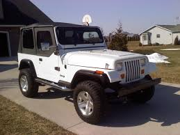 old white jeep wrangler vinsanity31 1990 jeep wrangler specs photos modification info at