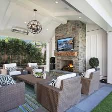 Covered Patio With Fireplace   covered patio vaulted ceiling with fireplace tv intersting finds