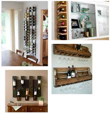 wine racks small spaces home decoration ideas 2010