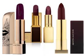 everybody looks great in plum colored lipstick