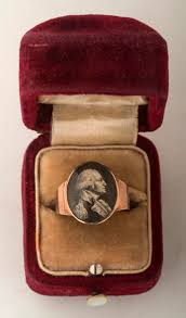 mourning ring george washington mourning ring with miniature engraved oval