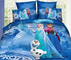 Frozen Bedroom Set Full 3d Bedding Cartoon Disneys Frozen Queen Elsa Home Interior Decor