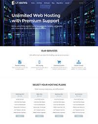 lt hosting onepage u2013 free one page responsive web hosting joomla