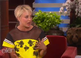 why kaley cucoo cut her hair kaley cuoco loves her haircut more than you ve ever loved anything