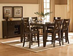 homelegance crown point transitional dining server with wine glass