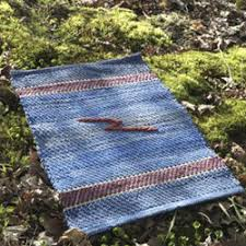 Denim Rag Rugs Swedish Rag Rugs Vävstuga Weaving Classes 3 Day Independent Study