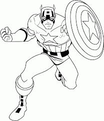 marvel captain america coloring pages coloring home