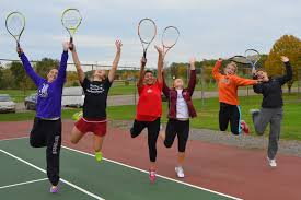urbana high girls tennis team having fun 10 1 12 coffman