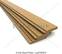 three wooden boards on a white background clip search