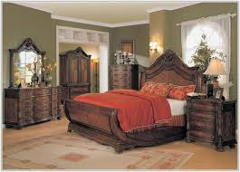 King Sleigh Bedroom Sets by Cheap King Sleigh Bedroom Sets Bedroom Home Decorating Ideas