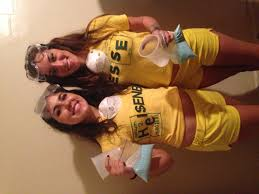 breaking bad halloween costume back of the shirts say
