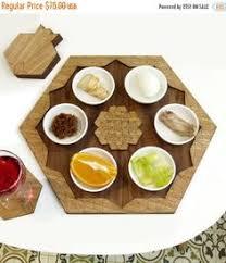 modern seder plate tangram passover seder plate modern seder plate by studioarmadillo