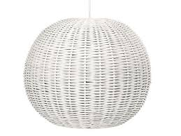 Wicker Pendant Light Contemporary Pendant Lights Made From Seashells Or Woven Materials