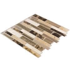 Tile Borders And Trim Shop Diy Peel And Stick Backsplashes At Lowes Com