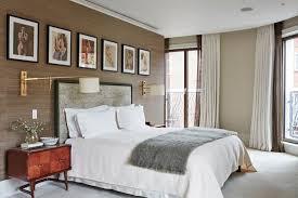 Silk Wallpaper In Earthy Bedroom Bedroom Ideas Houseandgarden - Earthy bedroom ideas