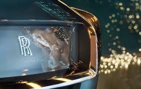 roll royce medan rolls royce vision next 100 riskerar att göra privatchauffören