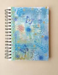 Decorative Journals Decorative Journals With Bright Hand Painted By Alisonjgilbertart