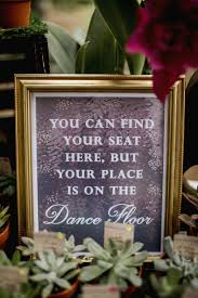 wedding seating signs 15 wedding signs that will make your guests lol weddingwire