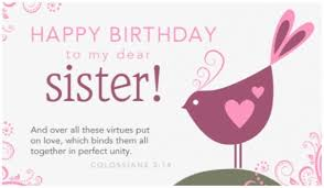 free birthday cards for a sister happy birthday sister free