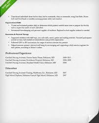 resume nursing examples resume cna 17 resume for cna examples