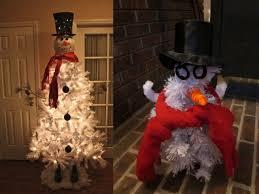 fail snowman tree fail