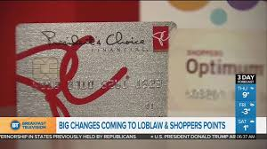 changes coming to loblaw and shoppers points