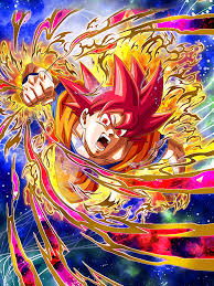 god super saiyan god goku dragon ball dokkan battle