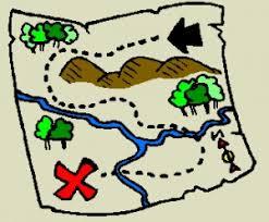 treasure map clipart printable treasure map clipart clipartix