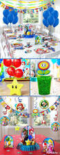 Super Mario Decorations Retirement Party Favors Homey Mario And Sonic Birthday Party