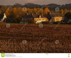french farm houses editorial photography image 80644742