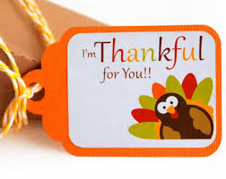 thanksgiving tags etsy