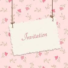 Cover Invitation Card Vintage Card Design For Greeting Card Invitation Menu Cover