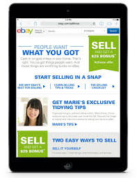 ebay has partnered with organizational guru marie kondo to help