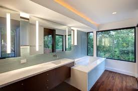 Bathroom Vanities With Sitting Area by A Window Above The Bathroom Sink Feature Or Flaw