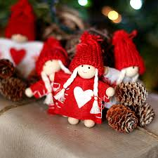 scandinavian christmas fairy dolls so cute clothespin