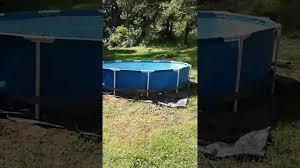 Intex 12x30 Pool 12x30 Intex Metal Frame Pool Youtube