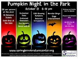 city park halloween pumpkin night in the park fridley mn official website