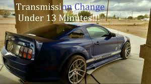 05 mustang gt transmission 2005 2009 mustang 4 0l transmission replacement and fluid refill