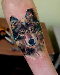 lone wolf the fringe wolf tattoos
