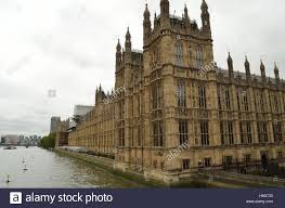 british houses british houses of parliament at the river thames london stock