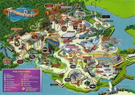 2007 World Map by Total Thorpe Park Archive Maps U0026 Tickets