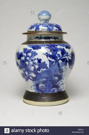Chinese Blue And White Vase Vintage Chinese Blue And White Porcelain Vase And Cover Painted