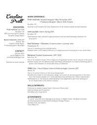 Sample Resume For Housekeeping Job In Hotel Resume U2014 Caroline Pratt Designs